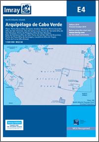 E4 REPUBLIKA ZIELONEGO PRZYLĄDKA Arquipelago de Cabo Verde mapa morska 1:500 000 IMRAY