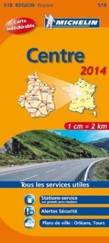 518 FRANCJA CENTRUM mapa samochodowa 1:200 000 MICHELIN
