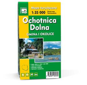 OCHOTNICA DOLNA gmina i okolice 1:35 000 WIT
