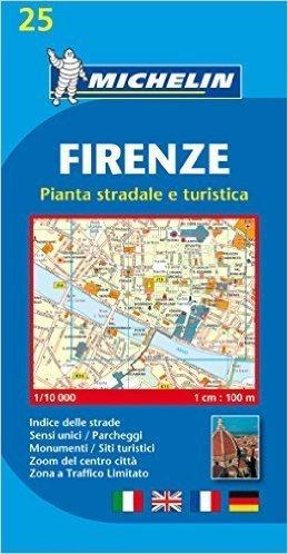 WŁOCHY - FLORENCJA plan miasta 1:10 000 MICHELIN