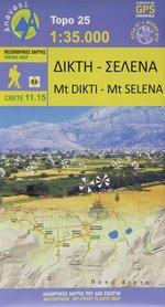 DIKTI - SELENA mapa turystyczna 1:35 000 ANAVASI