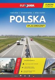 POLSKA ATLAS DROGOWY 1:500 000 EUROPILOT