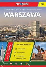 WARSZAWA ATLAS MIASTA 1:26 000 EUROPILOT