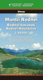MUNTI RODNEI Góry Rodniańskie mapa turystyczna 1:60 000 DIMAP SZARVAS