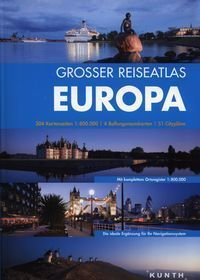 EUROPA atlas samochodowy 1:800 000 KUNTH
