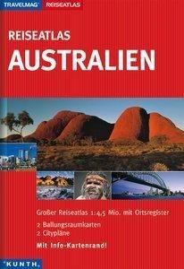 AUSTRALIA atlas samochodowy KUNTH