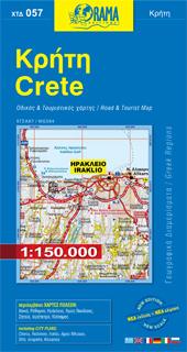 KRETA mapa samochodowa 1:150 000 ORAMA 2015