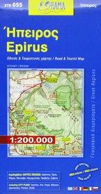 EPIR EPIRUS mapa samochodowa 1:200 000 ORAMA 2019