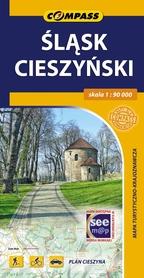 ŚLĄSK CIESZYŃSKI mapa turystyczna 1:90 000 COMPASS