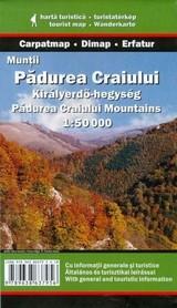 Góry Pădurea Craiului mapa turystyczna 1:50 000 DIMAP SZARVAS