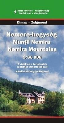 Góry MUNTII-NEMIRA mapa turystyczna 1:60 000 DIMAP SZARVAS