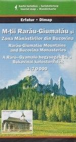 Góry RARAU-GIUMALAU mapa turystyczna 1:70 000 DIMAP SZARVAS