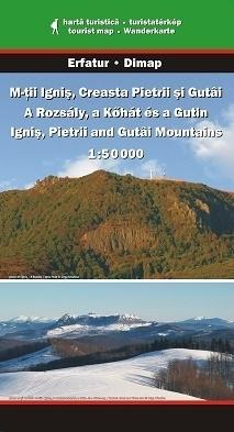 Góry IGNIS, PIETRII, GUTAI mapa turystyczna 1:50 000 DIMAP SZARVAS