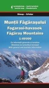 Góry FOGARASKIE FAGARAS mapa turystyczna 1:60 000 DIMAP SZARVAS
