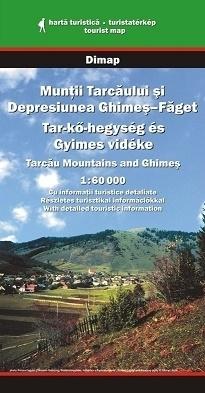 Góry TARCAU, GHIMES mapa turystyczna 1:60 000 DIMAP SZARVAS
