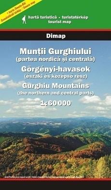 MUNTI GURGHIULUI Góry GURGHIU mapa turystyczna 1:60 000 DIMAP SZARVAS