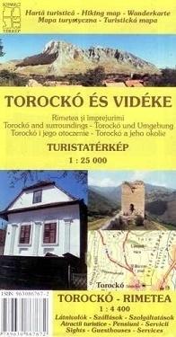 TOROCKO I OKOLICE mapa turystyczna 1:25 000 DIMAP SZARVAS