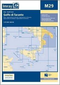 M29 Zatoka Tarencka mapa morska 1:375 000 IMRAY