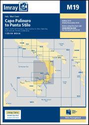 M19 Capo Palinuro - Punta Stilo mapa morska 1:325 000 IMRAY