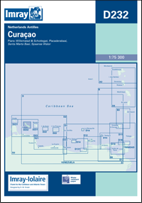 D232 Curacao mapa morska 1:75 300 IMRAY