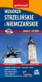 WZGÓRZA STRZELIŃSKIE I NIEMCZAŃSKIE mapa turystyczna 1:45 000 STUDIO PLAN