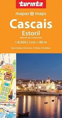 CASCAIS plan miasta 1:8 000 TURINTA