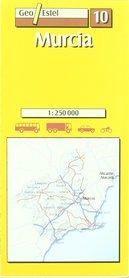 MURCJA mapa samochodowa 1:250 000 GEOESTEL