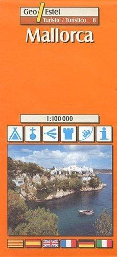 MAJORKA mapa turystyczna 1:100 000 GEOESTEL