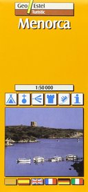 MINORKA mapa turystyczna 1:50 000 GEOESTEL