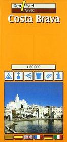 COSTA BRAVA mapa turystyczna 1:80 000 GEOESTEL