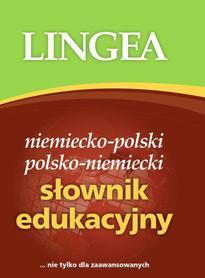 SŁOWNIK EDUKACYJNY NIEMIECKO - POLSKI LINGEA