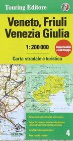 WENECJA EUGANEJSKA mapa samochodowa 1:200 000 TOURING EDITORE