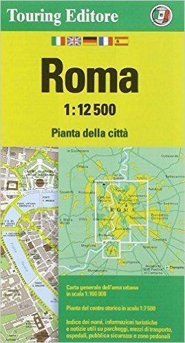 RZYM plan miasta 1:12 500 TOURING EDITORE
