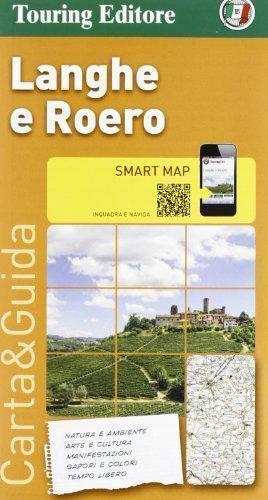 LANGHE  E ROERO (PIEMONT) mapa samochodowa 1:175 000 TOURING EDITORE