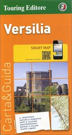 VERSILIA - TOSKANIA ZACHODNIA mapa samochodowa 1:175 000 TOURING EDITORE