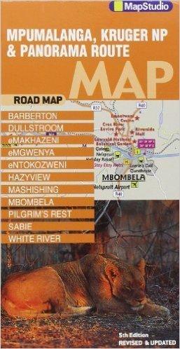 MPUMALANGA KRUGER MAPA SAMOCHODOWA 1:200 000 MAPSTUDIO
