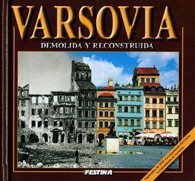 WARSZAWA ZBURZONA I ODBUDOWANA album FESTINA j. hiszpański