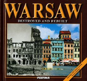 WARSZAWA ZBURZONA I ODBUDOWANA album FESTINA j. angielski
