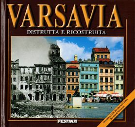 WARSZAWA ZBURZONA I ODBUDOWANA album FESTINA j. włoski