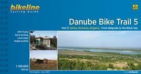 DUNAJ - DANUBE BIKE TRAIL 5 atlas rowerowy BIKELINE