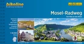 MOZELA - MOSELLE RIVER TRAIL atlas rowerowy BIKELINE