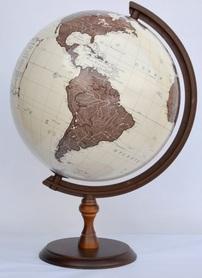 Globus 320 antyczny GŁOWALA 2335