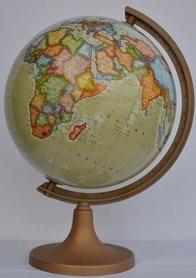 Globus 320 polityczny stopka plastik GŁOWALA 3417