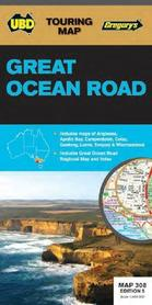 308 GREAT OCEAN ROAD Australia mapa turystyczna UBD