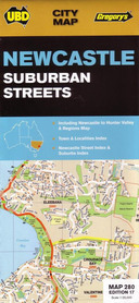 280 NEWCASTLE Australia plan miasta UBD