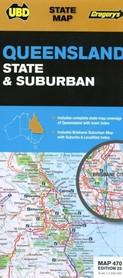 470 QUEENSLAND mapa samochodowa UBD