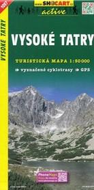 TATRY WYSOKIE mapa turystyczna 1:50 000 SHOCART