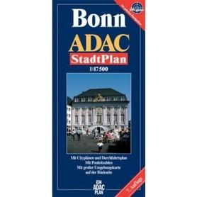 BONN plan miasta 1:17 500 ADAC