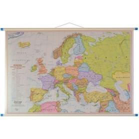 EUROPA mapa ścienna polityczna / fizyczna 1:7 000 000 EKOGRAF