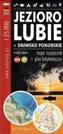 JEZIORO LUBIE + DRAWSKO POMORSKIE mapa turystyczna 1:25 000 EKOMAP